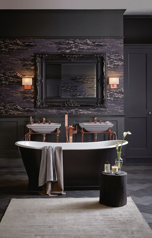 Bathroom Trends 2019 - Rose Gold Pumbing