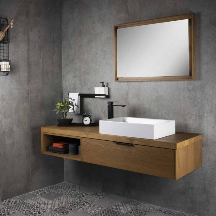 Bathroom Trends 2019 - Natural Wood