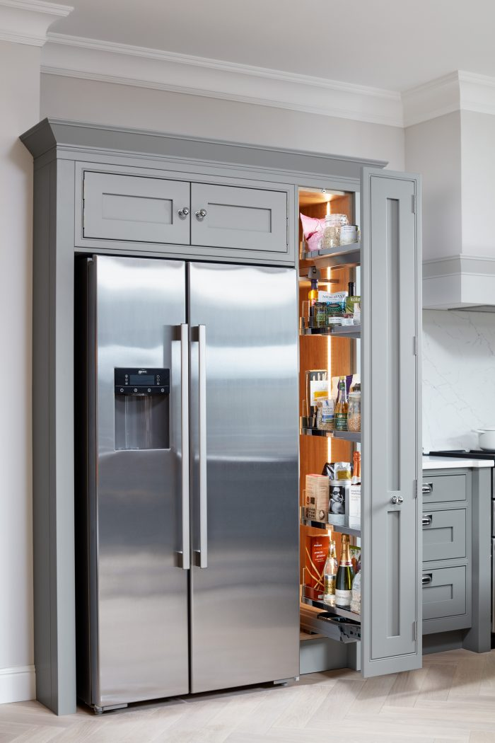 Kitchen Storage: Larder Units and Bi-Fold Cabinets