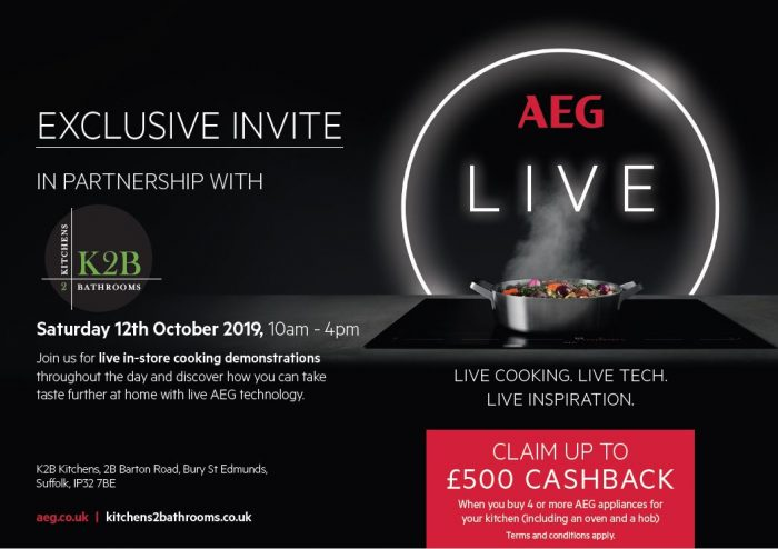 AEG Live in Partnership with Kitchens 2 Bathrooms