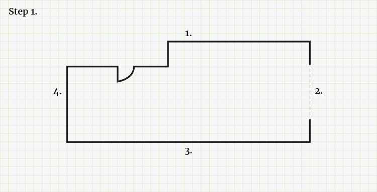 How to Measure for A New Kitchen - Step 1