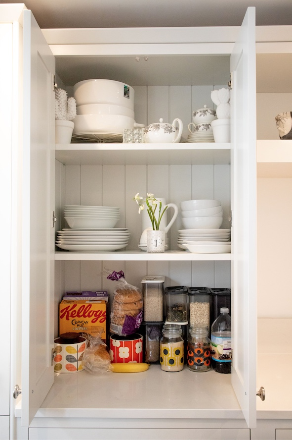 Bespoke Larder Included in Kitchen Design